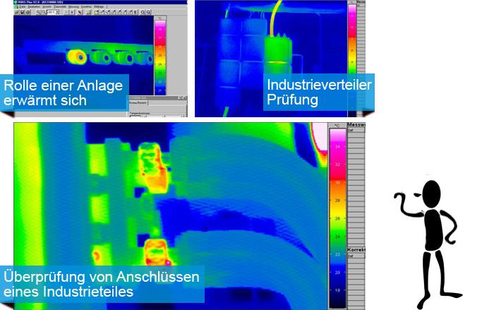 elektrische Anlgagen wärmetechnisch geprüft, mechanische Schwergängigkeit lokalisiert. Sich anbahnende Defekte werden frühzeitig erkannt.