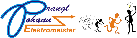 Johann Prangl Elektromeister Logo
