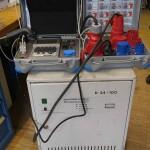 aktivadapter zur Messung von Drehstrom- und Schweissgeräten in Verbindung mit dem 0701-0702 Meßgerät