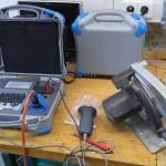 handgeraet mit dem Metrel 0701-0702 Meßgerät überprüfen